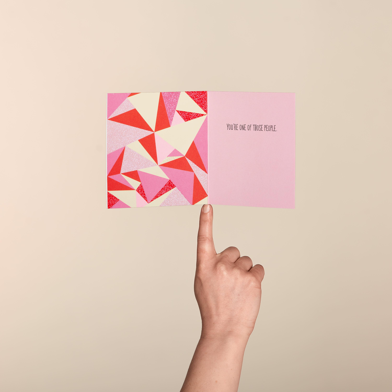 Seeing Love Valentine's Day Card image