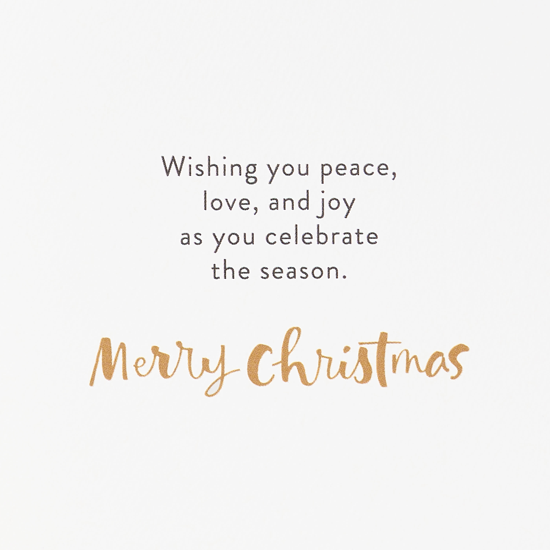Religious Holy Night Christmas Greeting Card image