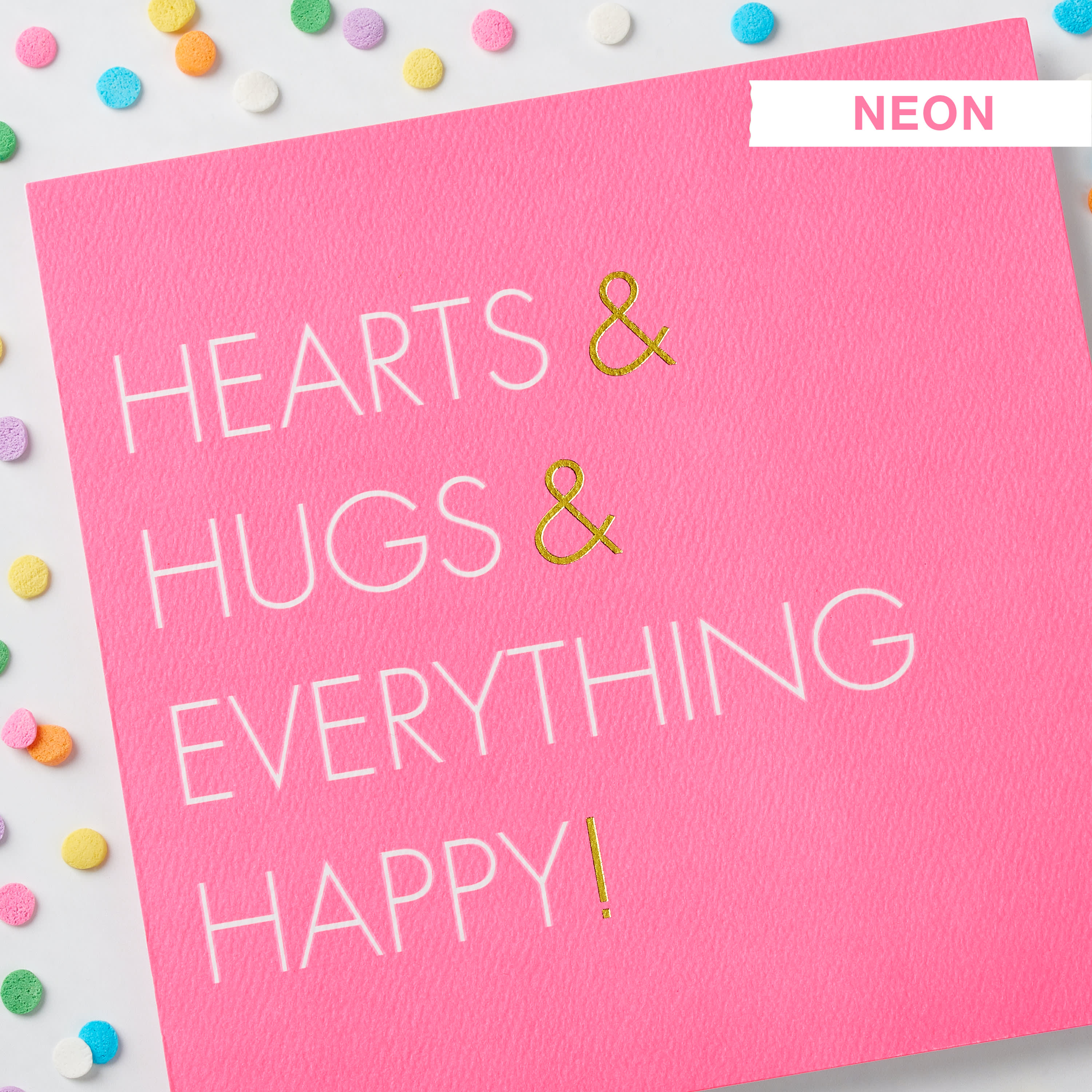 Hugs Valentine's Day Cards, 6-Count image