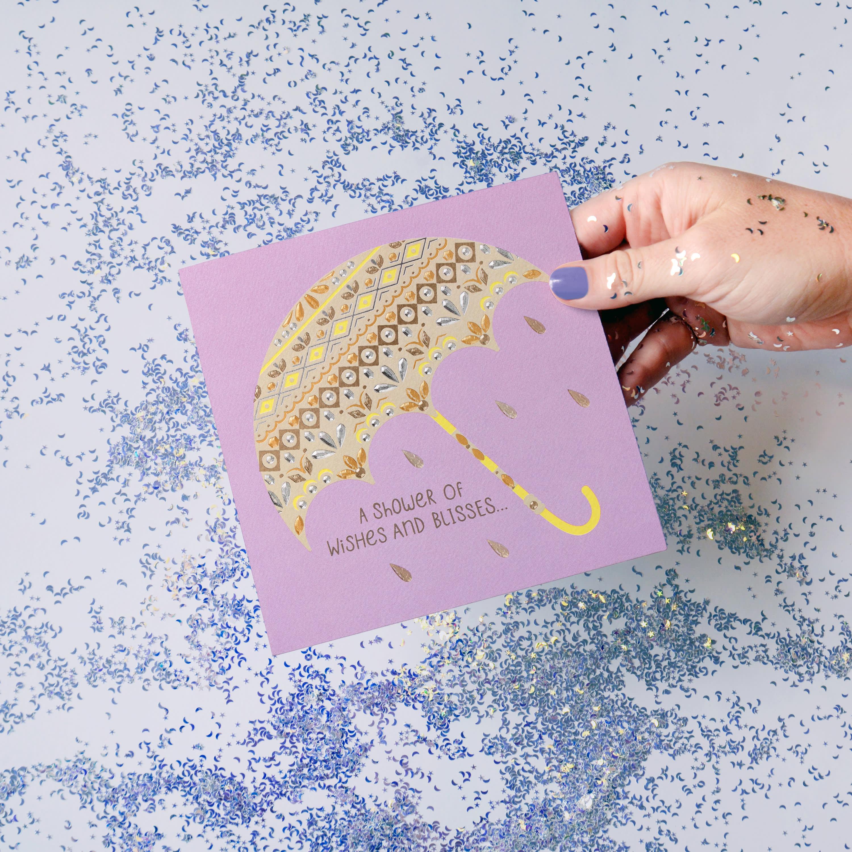 Umbrella Bridal Shower Card image