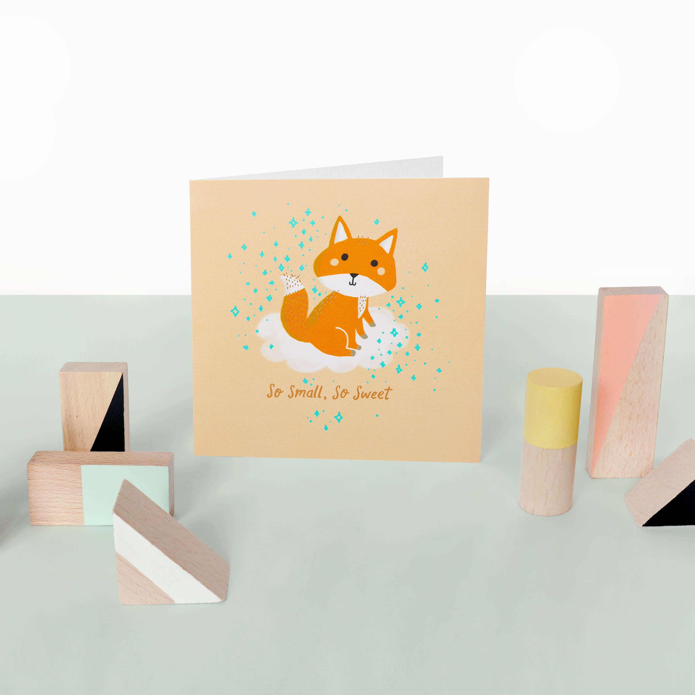So Sweet Baby Congratulations Card image