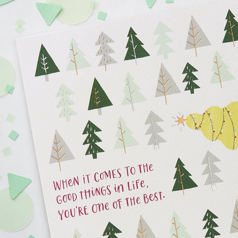 Good Things Christmas Greeting Card image