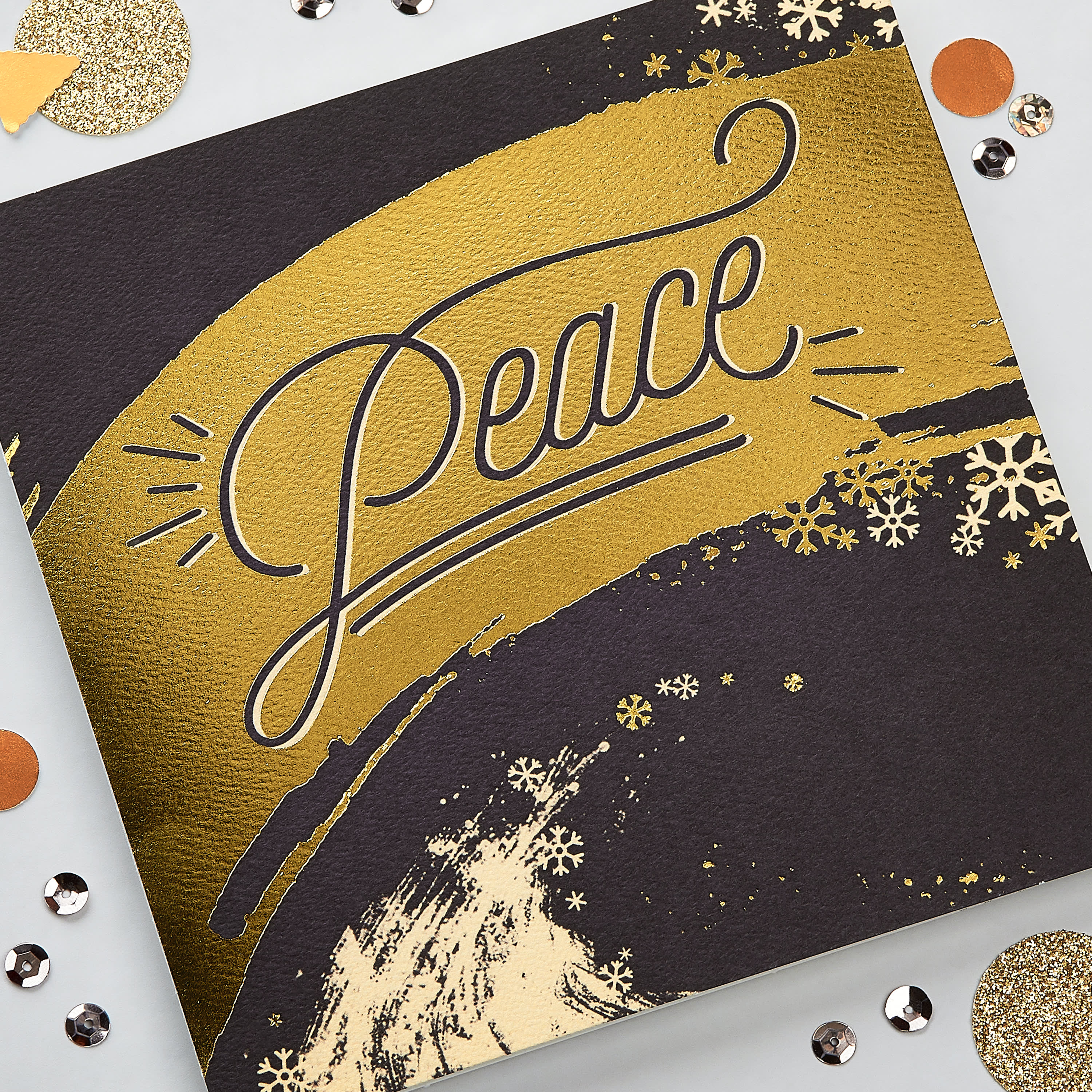 Peace Greeting Card, 6-Count - Christmas, Happy Holidays, Happy New Year, Hanukkah image