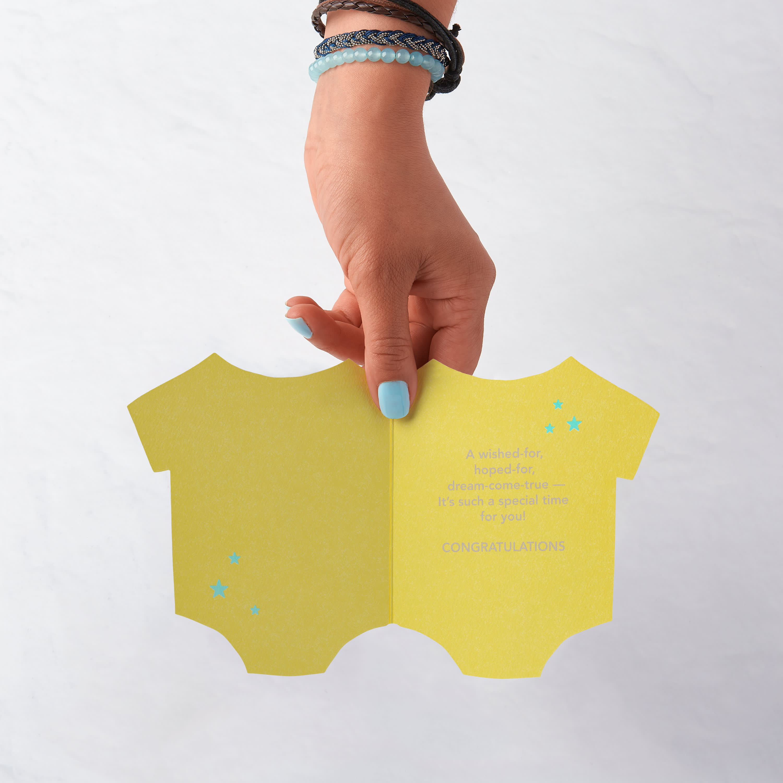 Cuddles Baby Congratulations Card image