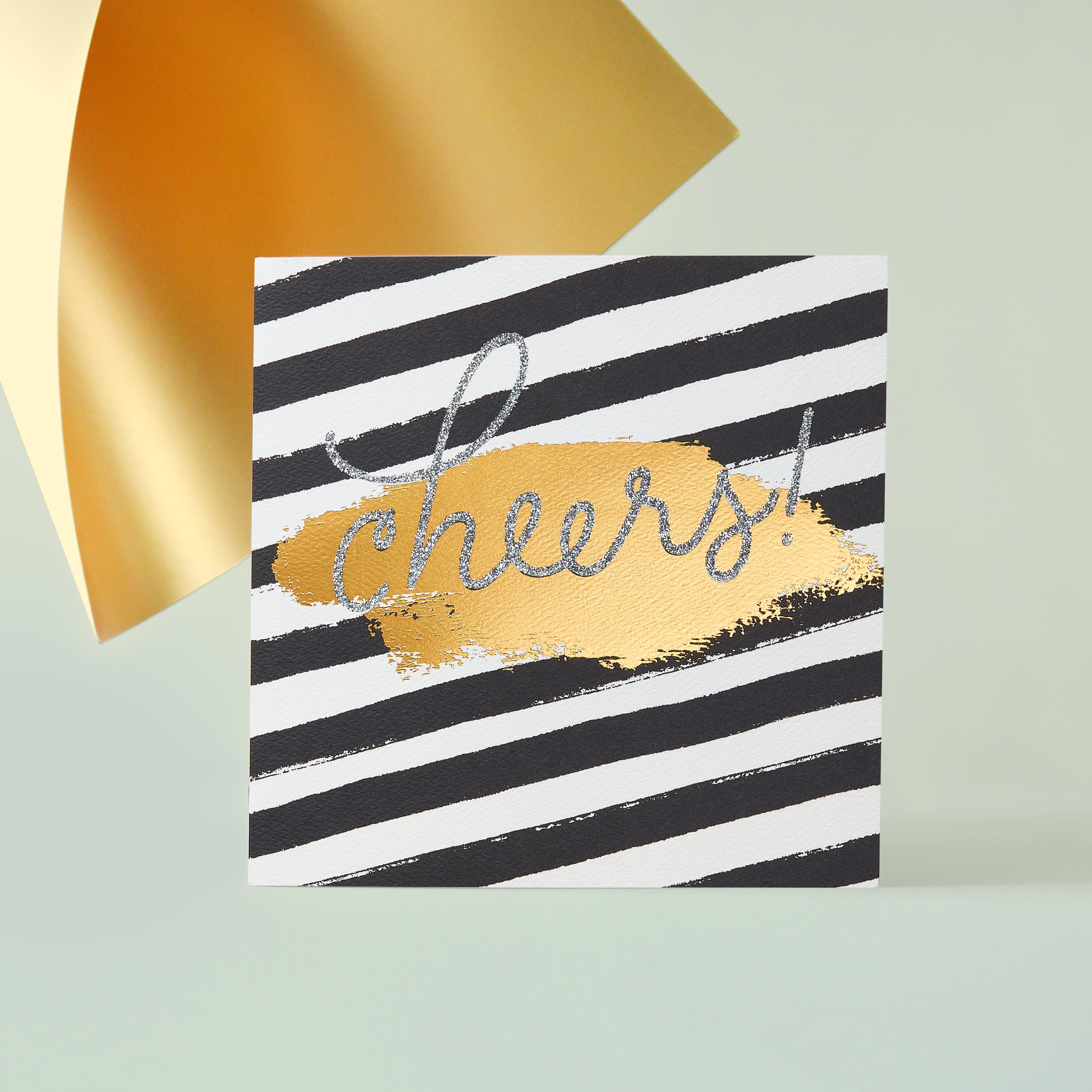 Cheers Greeting Card - Christmas, Happy Holidays, Happy New Year image