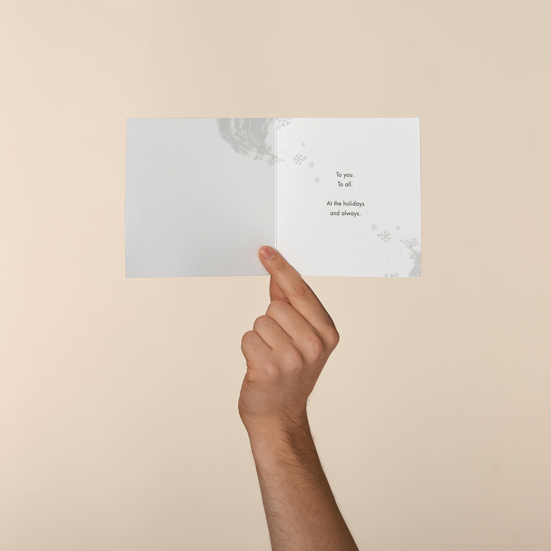 Peace Greeting Card, 6-Count - Christmas, Happy Holidays, Happy New Year, Hanukkah image