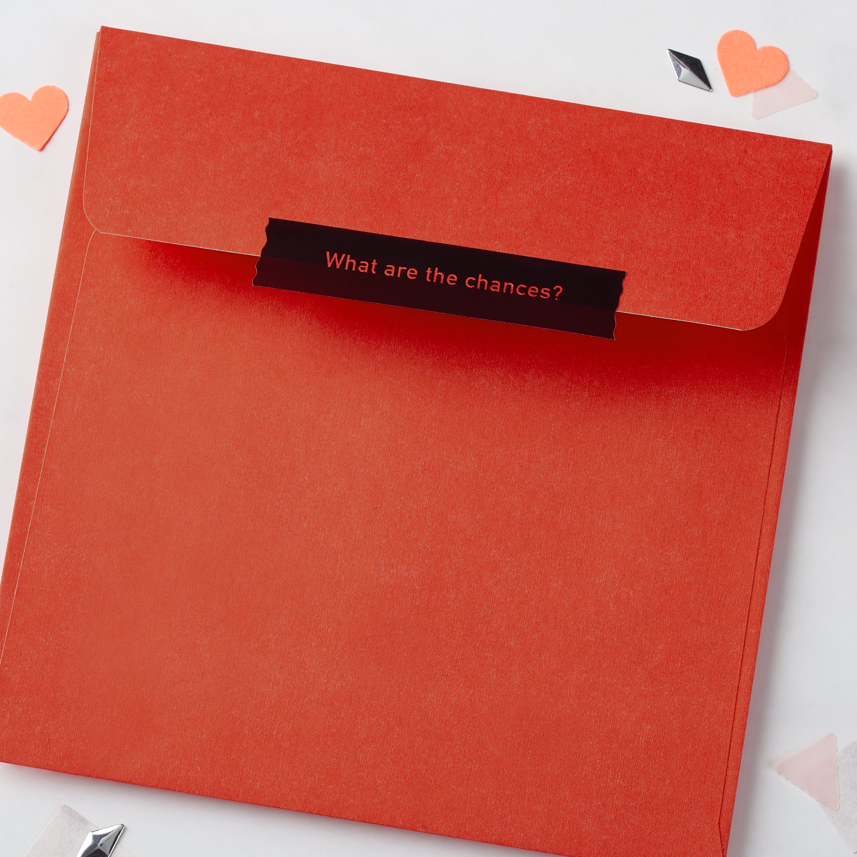 Romantic Defying the Odds Valentine's Day Card image