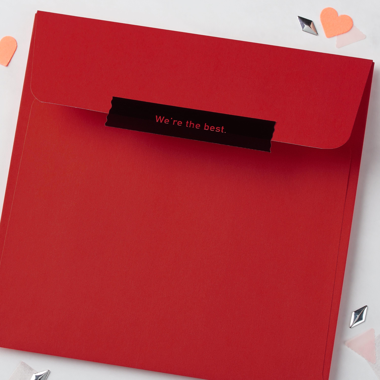 Badass Valentine's Day Card for Friend image