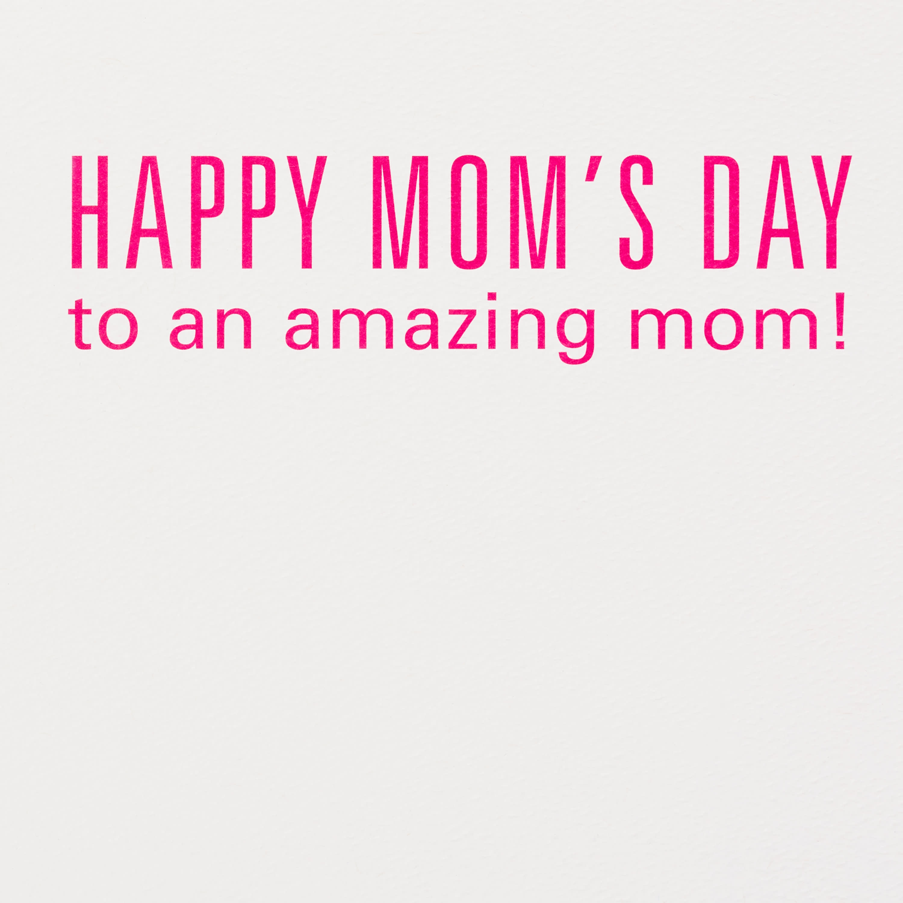 F-Words Mother's Day Card image