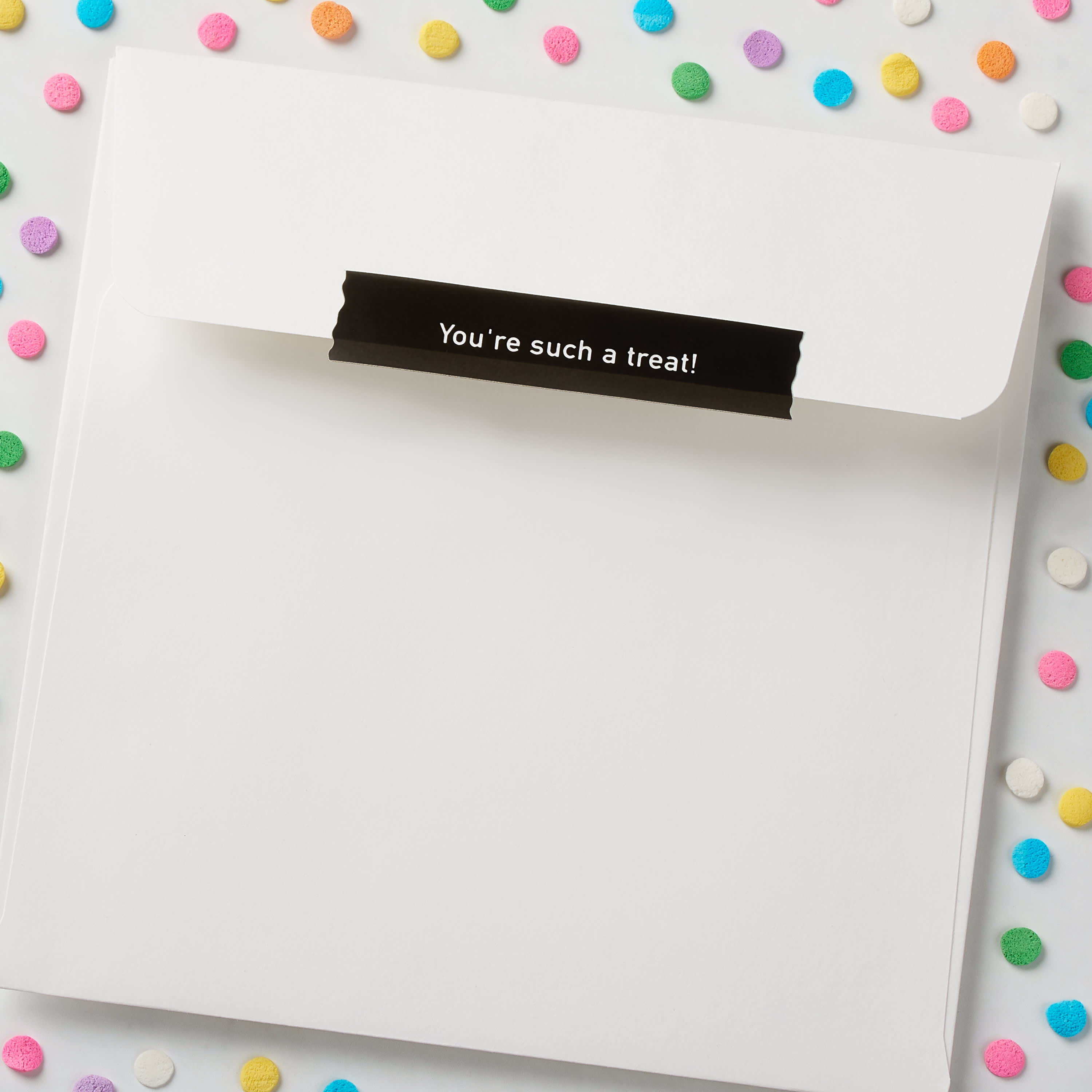 Candy Heart Valentine's Day Cards, 6-Count image