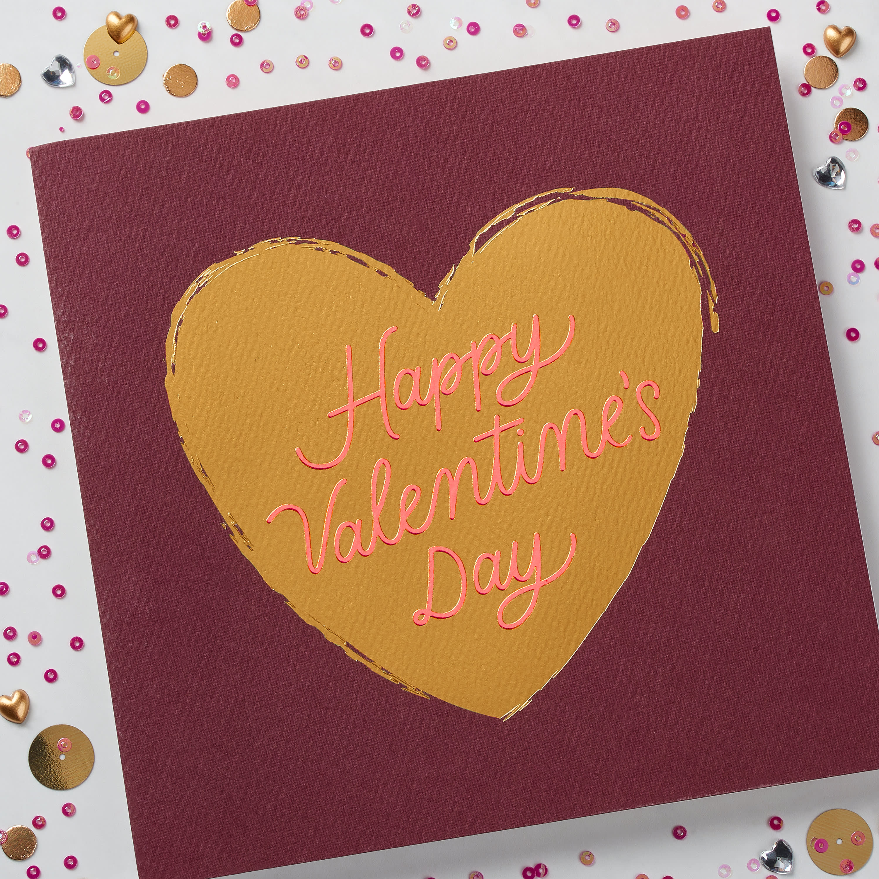 Heart Valentine's Day Card image
