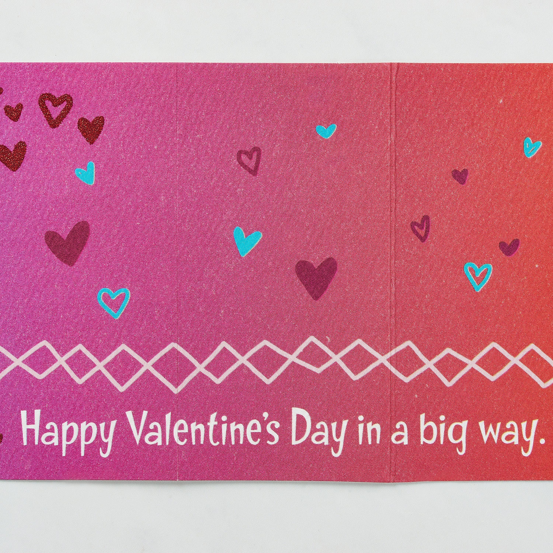 Dinosaur Valentine's Day Card image