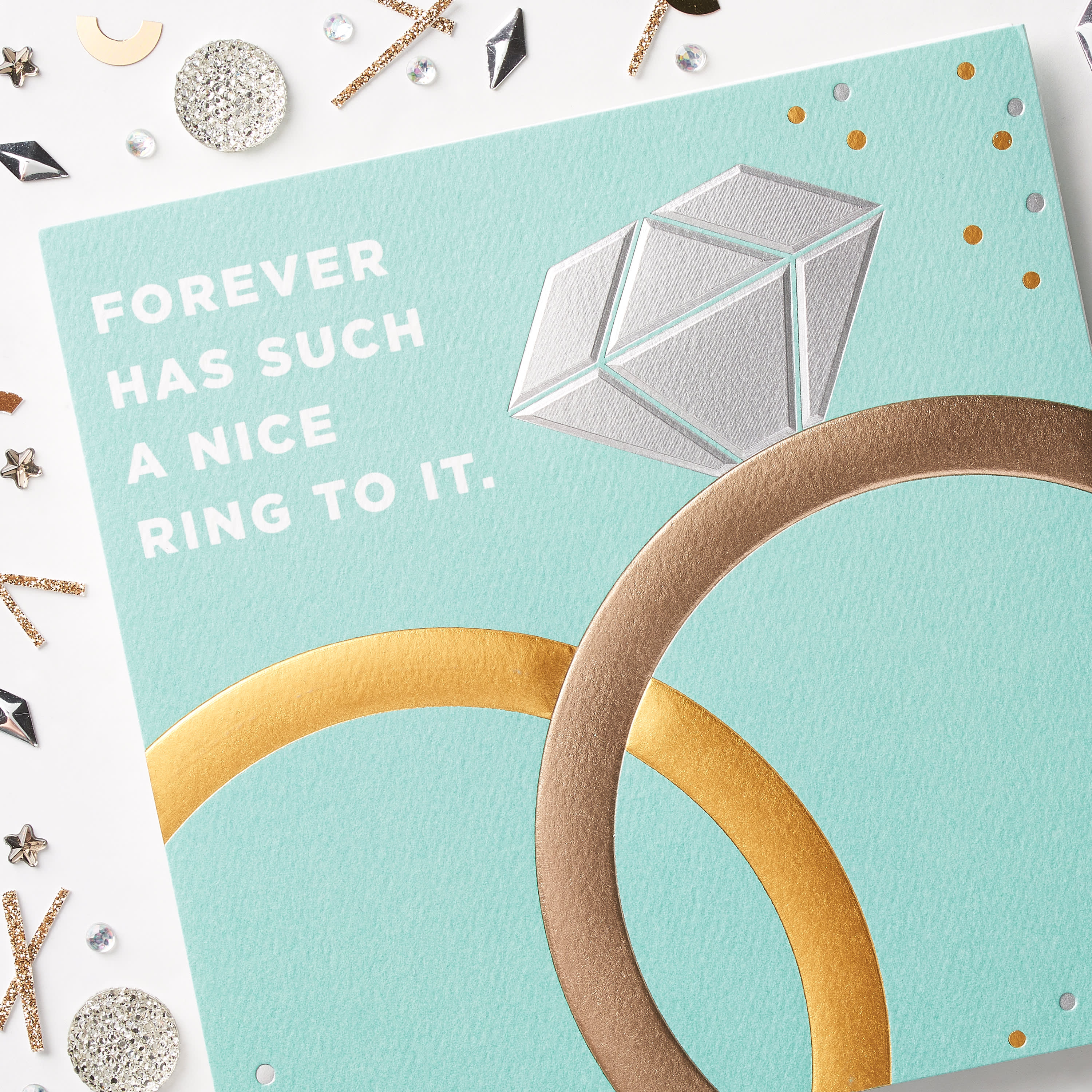Forever Congratulations Card image