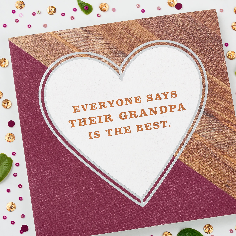 Best Grandpa Father's Day Card for Grandpa image