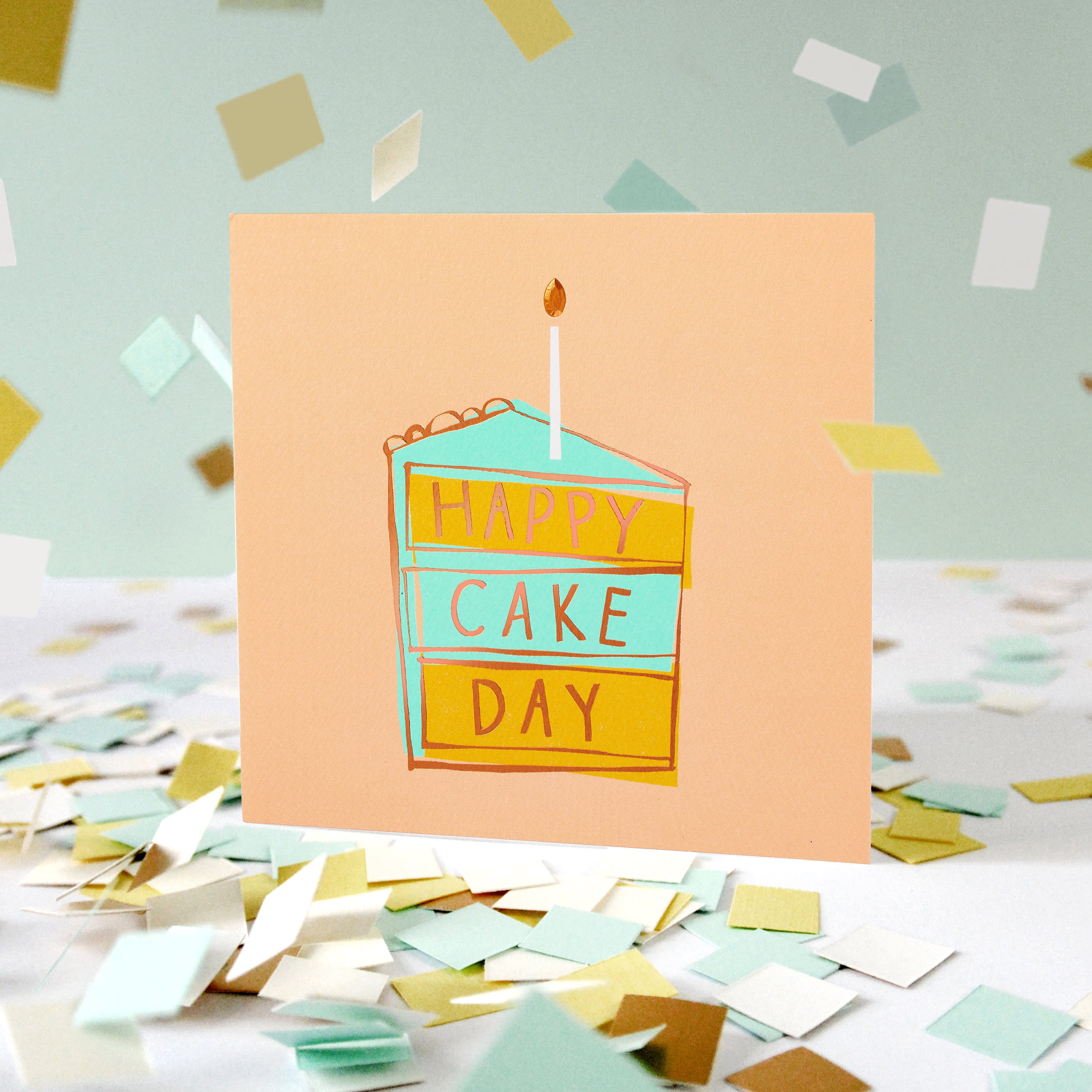 Cake Day Birthday Card image