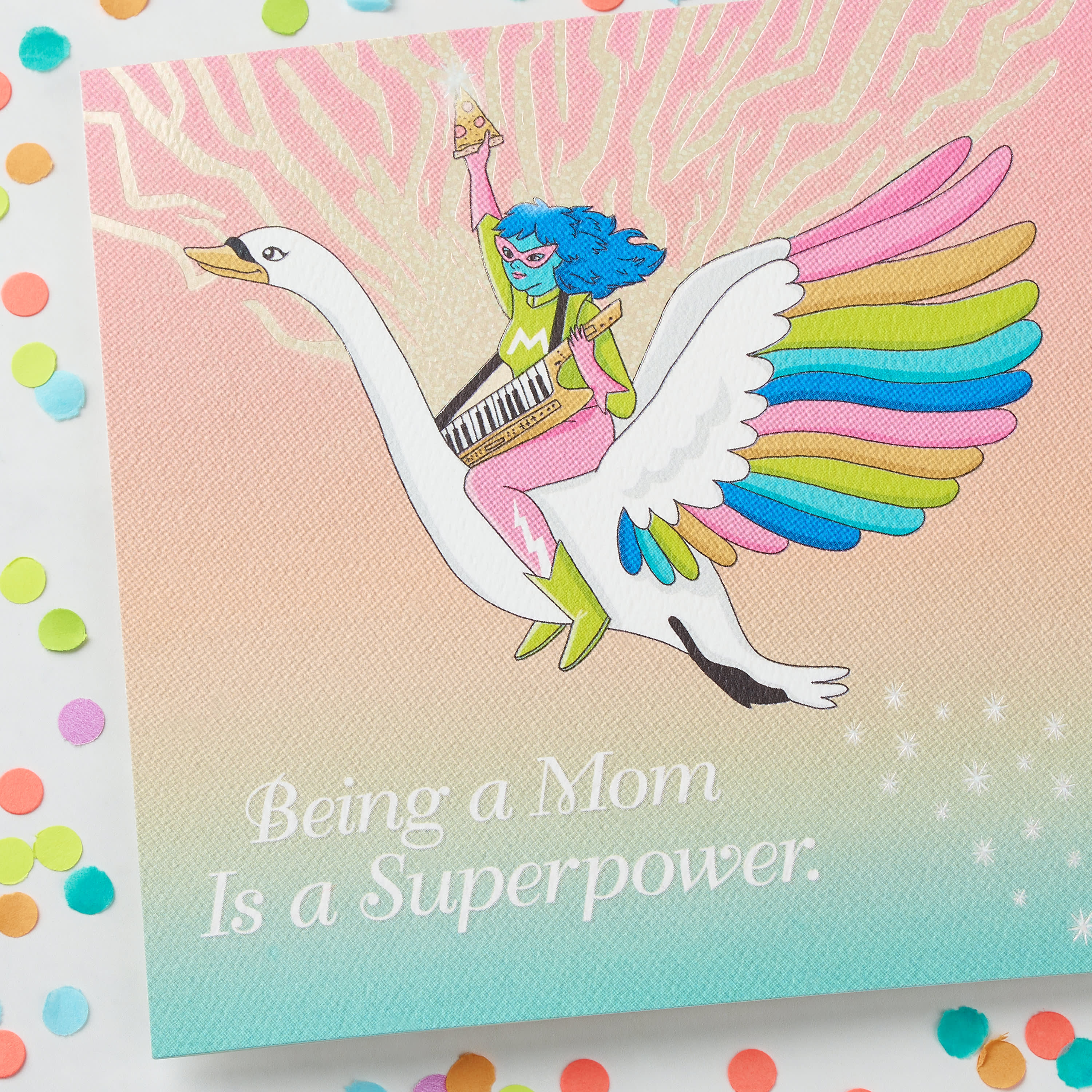 Funny Superpower Mother's Day Card image