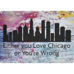 "Love Chicago Novelty Sign (10"" x 14"")"