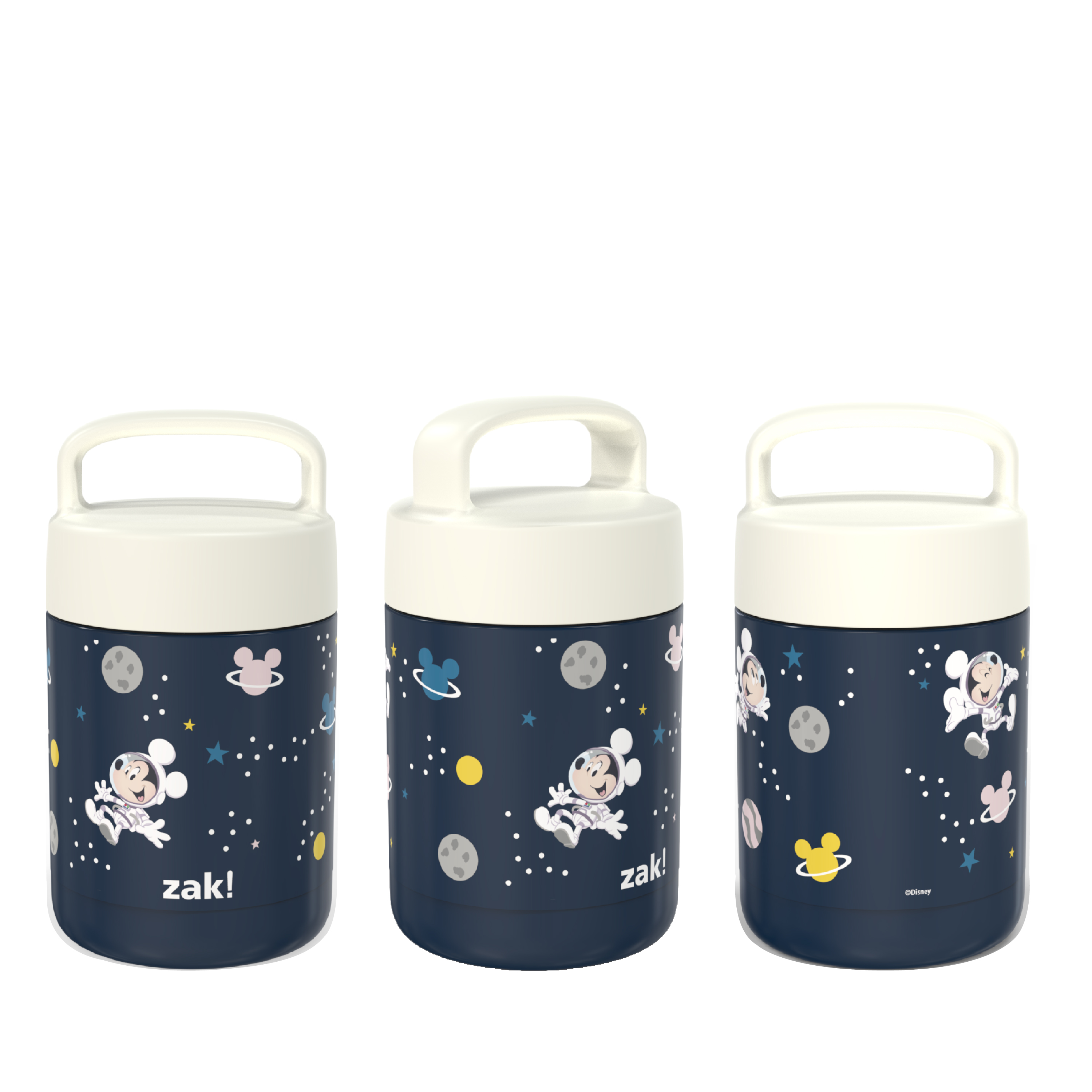 Disney Reusable Vacuum Insulated Stainless Steel Food Container, Mickey Mouse slideshow image 2