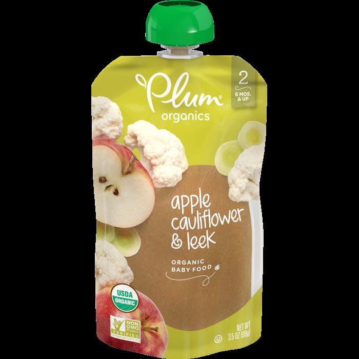 Apple, Cauliflower & Leek Baby Food