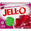 Jell-O Blackberry Fusion Gelatin Mix 3 oz Box