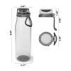 Kiona 31 ounce Water Bottle, Charcoal slideshow image 5
