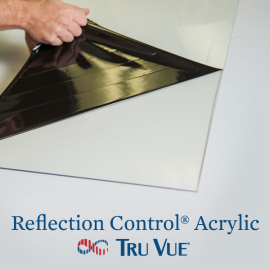Tru Vue Reflection Control Acrylic 40