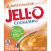 Jell-O Cook & Serve Butterscotch Pudding & Pie Filling 3.5 oz Box