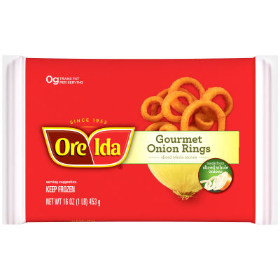 Ore-Ida Gourmet Onion Rings 16 oz Bag