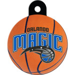 Orlando Magic Large Circle Quick-Tag