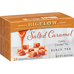 Salted Caramel Black Tea - Case of 6 boxes - total of 108 teabags