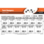 Tack Bumpers Assortment (Adhesive & Rubber)
