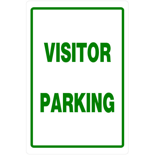 Visitor Parking Sign (18