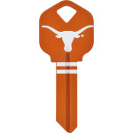NCAA University of Texas Key Blank