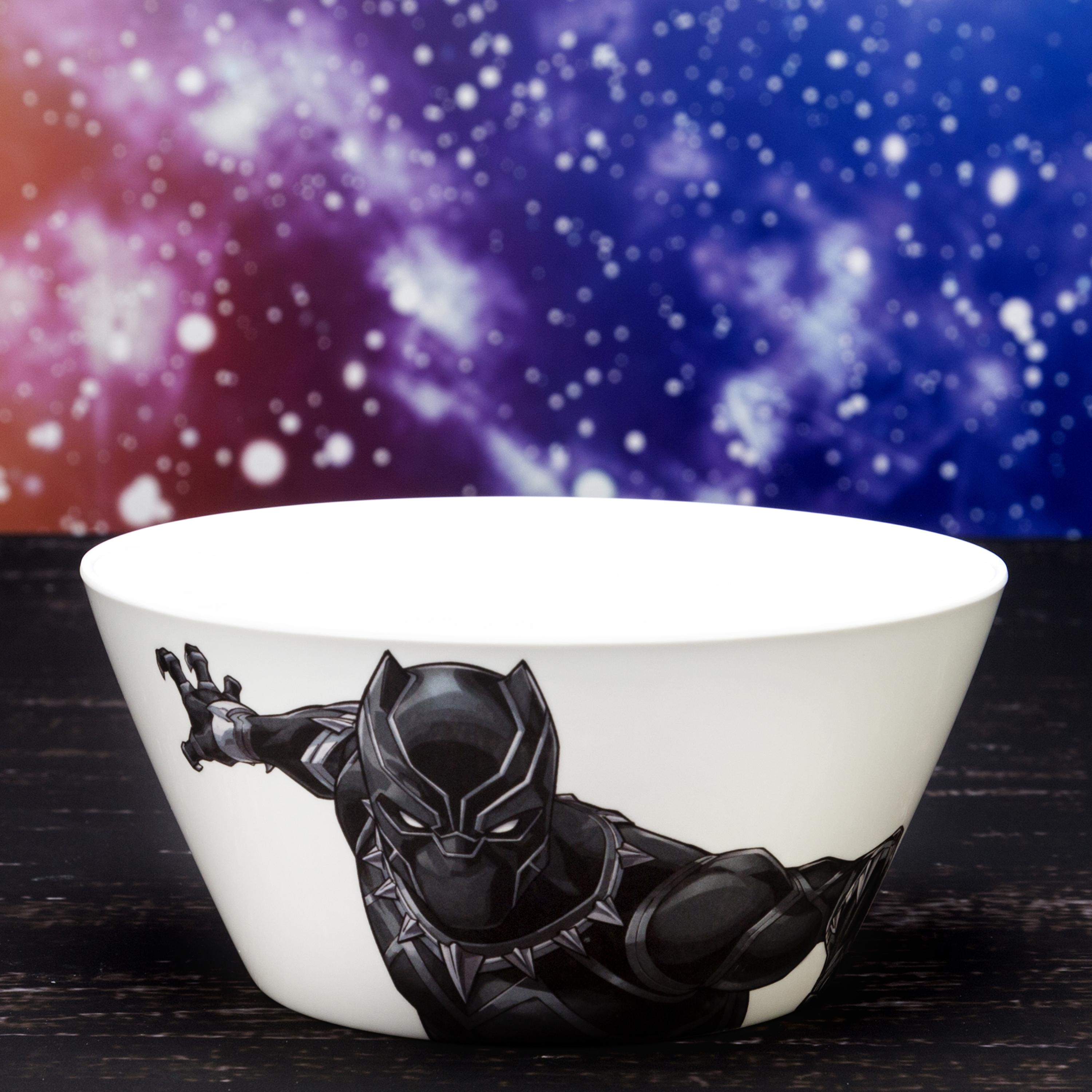 Marvel Comics Dinnerware Set, Black Panther & The Avengers, 2-piece set slideshow image 6