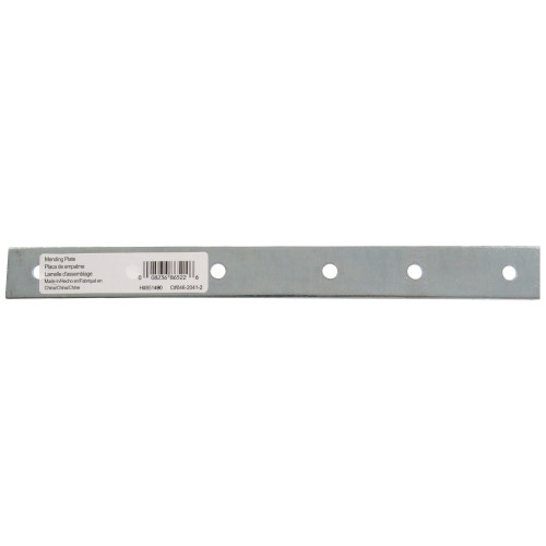 Hardware Essentials Mending Plates Zinc 10