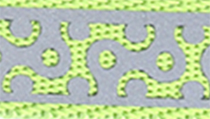 Lazer Brite Reflective Open-Design Adjustable Collar