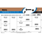 Class 10.9 Metric Flange Bolts & Nuts Assortment (M12-1.75 Thread)