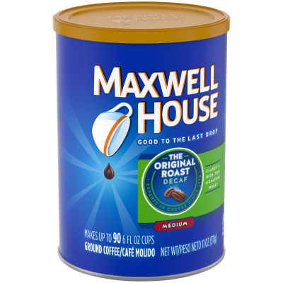 Maxwell House Decaf Original Roast Ground Coffee 11 oz Canister