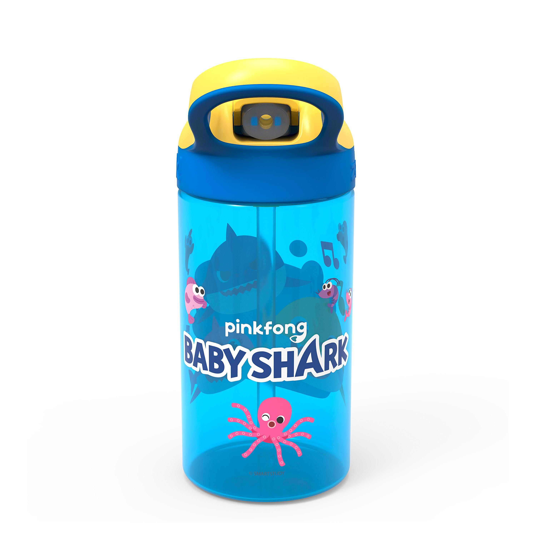 Baby Shark 16 ounce Water Bottle, Underwater Friends slideshow image 4