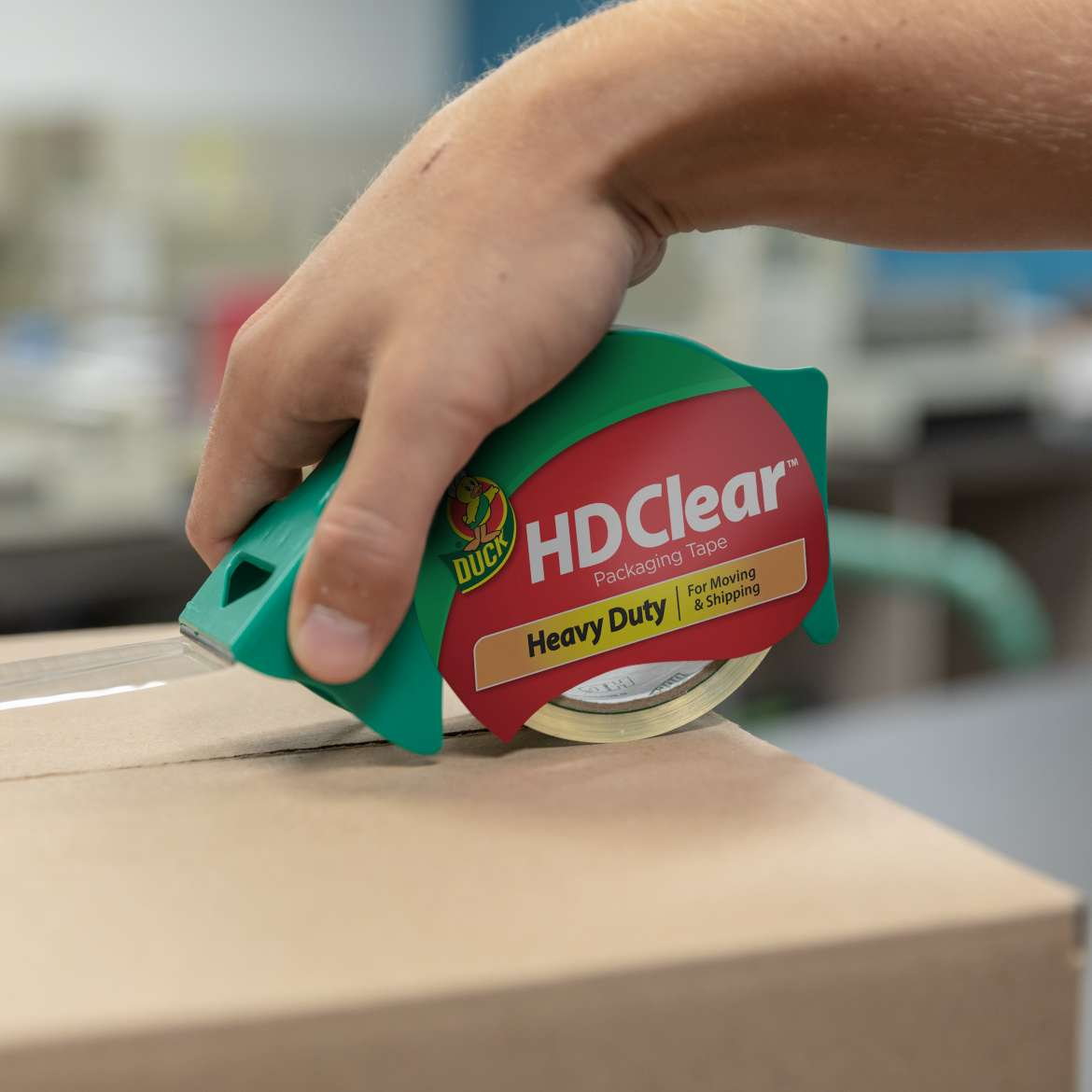 HD Clear™ Heavy Duty Packing Tape