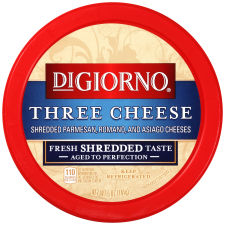 DiGiorno Shredded Three Cheese Blend Cheese 5 oz Tub