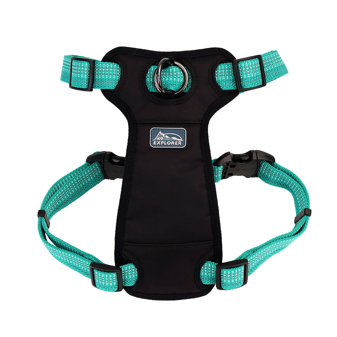 K9 Explorer ® Brights Reflective Front-Connect Harness