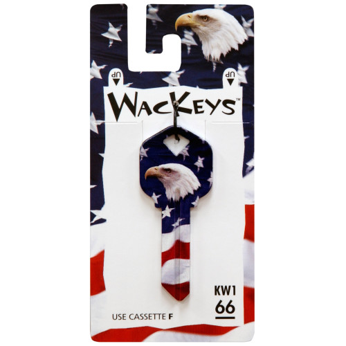 WacKey Bald Eagle Key Blank Kwikset/66 KW1