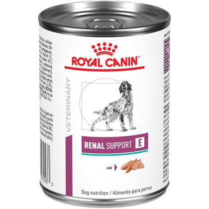 Renal Support E Loaf Canned Dog Food (Packaging May Vary)