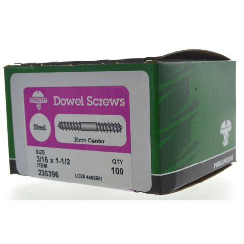 Dowel Screws 3/16
