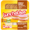 Oscar Mayer Lunchables Ham & Swiss with Crackers 3.2 oz Tray