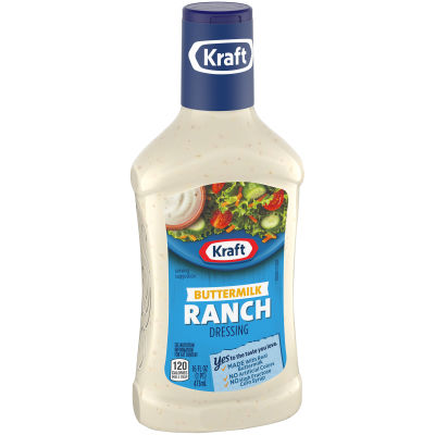 Kraft Buttermilk Ranch Dressing 16 fl oz Bottle