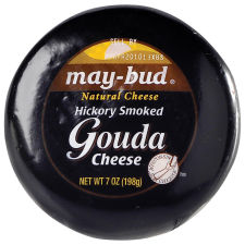 May-Bud® Hickory Smoked Gouda Cheese 7 oz Wrapper