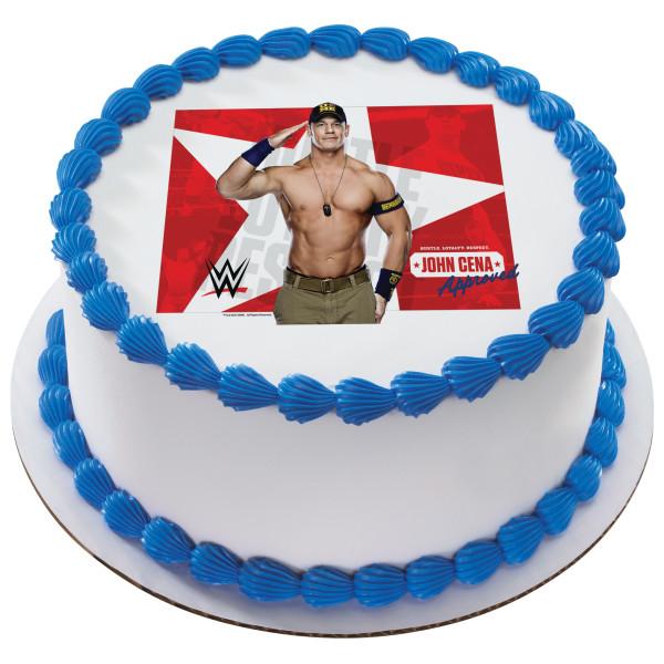 WWE™ John Cena Approved PhotoCake® Edible Image®