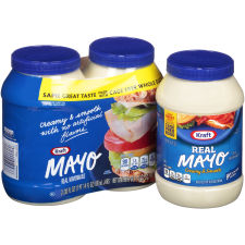 Kraft Mayo Real Mayonnaise, 2 - 30 fl oz Jars